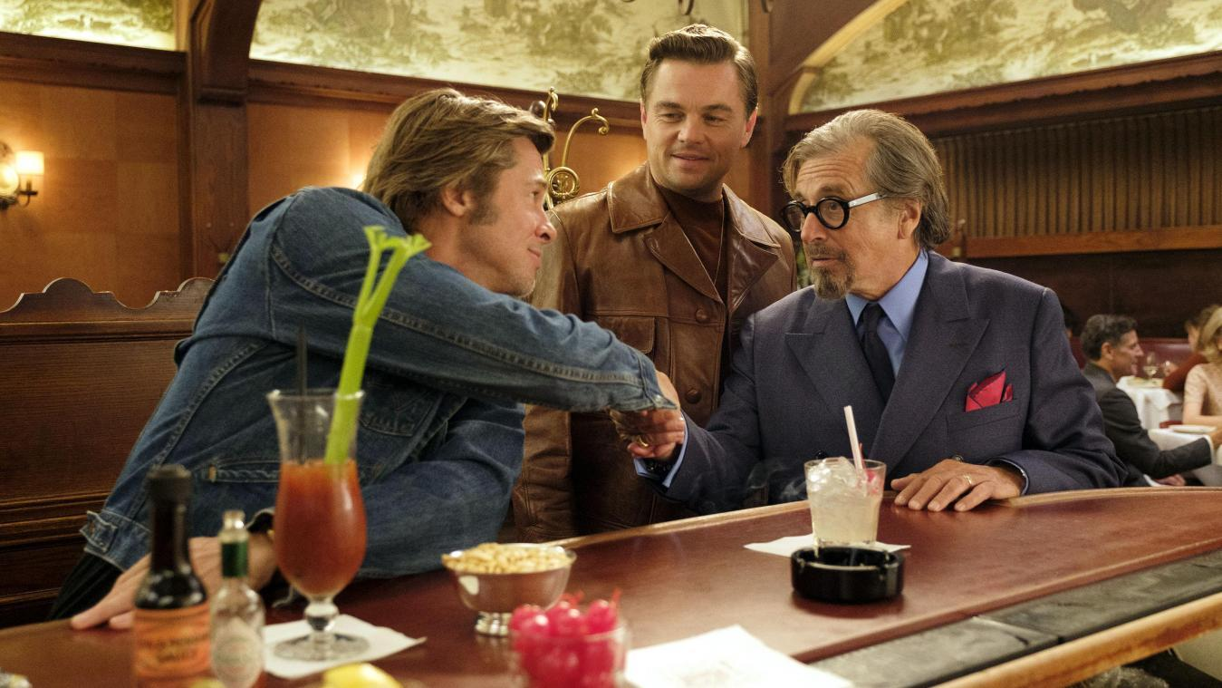 «Once upon a time… in Hollywood»: Brad Pitt et Leonardo DiCaprio arrivent sur Netflix!