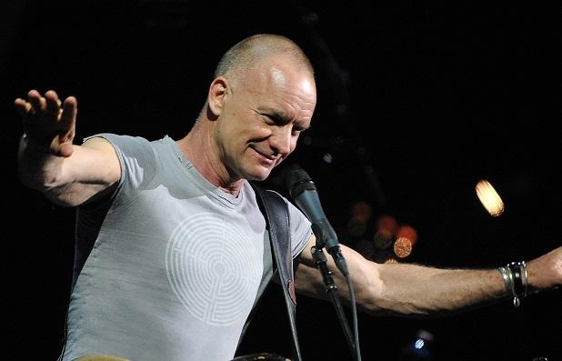 Sting rouvre le Bataclan © Reporters